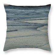 Fading Fast In Maine Throw Pillow