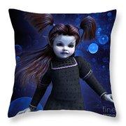 Faerie Child Throw Pillow