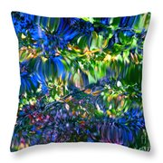 Faerie Frenzy Throw Pillow