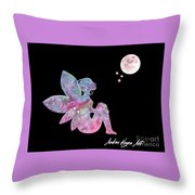 Faerie Magic Throw Pillow