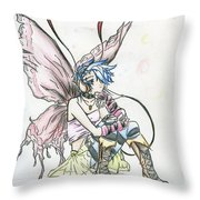 Faerie Pop Throw Pillow