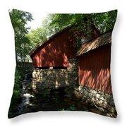 Fagervik Gard Panorama 1 Throw Pillow
