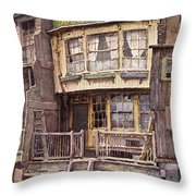 Fagin's Den Throw Pillow