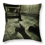 Failed Throw Pillow by Laura Melis