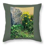 Failte Stone, A Welcome In Ireland Throw Pillow