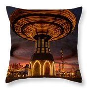 Fair Fun Throw Pillow