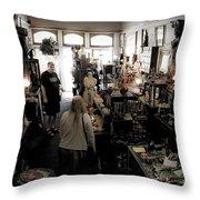Fair Oaks Antique Shop Throw Pillow