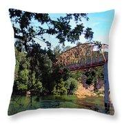 Fair Oaks Bridge Throw Pillow