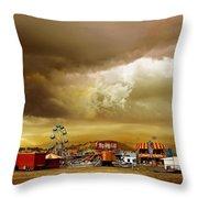 Fair Weather Throw Pillow