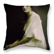 Fairest Indian Girl Throw Pillow