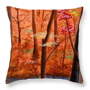 Fairfax Fall Throw Pillow