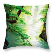 Fairfax Summer Throw Pillow