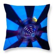 Fairground Abstract Vi Throw Pillow
