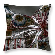 Fairground Rides Throw Pillow