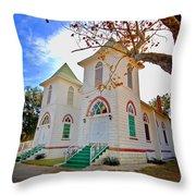 Fairhope Zion Church Throw Pillow