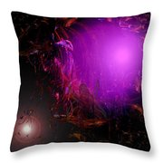 Fairies Beckon Throw Pillow
