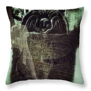 Fairies Throw Pillow by Delight Worthyn