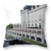 Fairmont Chateau Laurier - Ottawa Throw Pillow