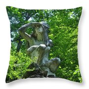 Fairmount Park - The Wissahickon Indian Throw Pillow
