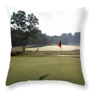 Fairway Hills - 2nd  - Toughest Par 5 In The Universe Throw Pillow