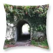 Fairy Bridge Throw Pillow