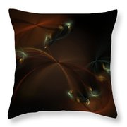 Fairy Circle Throw Pillow