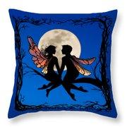 Fairy Couple Throw Pillow