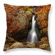 Fairy Fall Throw Pillow