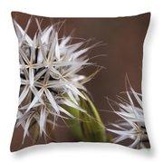 Fairy Flower Throw Pillow