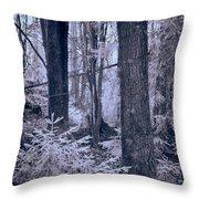 Fairy Forest Throw Pillow