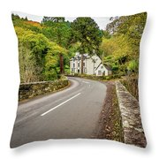 Fairy Glen Hotel Throw Pillow
