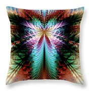 Fairy In Flight Hd Throw Pillow