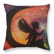 Fairy Life Faith Throw Pillow
