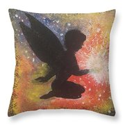 Fairy Life Happiness  Throw Pillow