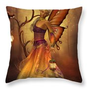 Fairy Lilith Throw Pillow