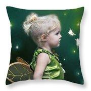 Fairy Princess Throw Pillow