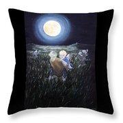 Fairy Races At Tara Throw Pillow