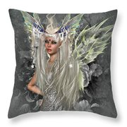Fairy So Sweet Throw Pillow
