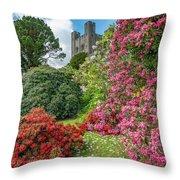 Fairy Tale Garden Throw Pillow