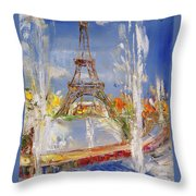 Fairy Tale In Reality Throw Pillow