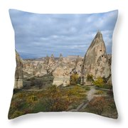 Fairy Tale Of Cappadocia Throw Pillow