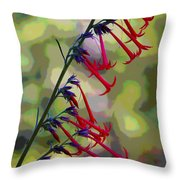 Fairy Trumpet Throw Pillow