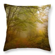Fairy Wood Throw Pillow by Evgeni Dinev