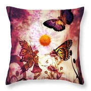 Fairy's Touch Throw Pillow