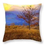 Fairytale Tree Throw Pillow by Barbara Schultheis