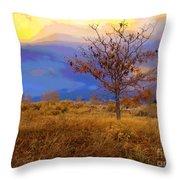 Fairytale Tree Throw Pillow