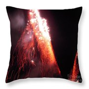 Fait In The Night Throw Pillow