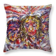 Faith Hope And Love Throw Pillow