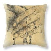 Faith Never Grows Old Throw Pillow