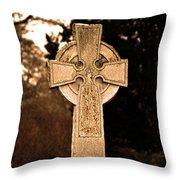 Faithful Until Death Throw Pillow